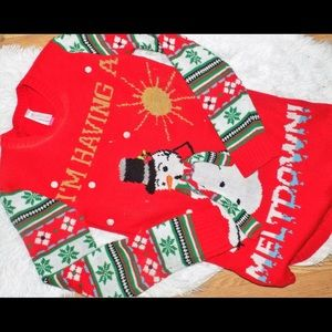 """Sweaters - """"Im having a Meltdown"""" ☃️ Christmas Ugly Sweater"""